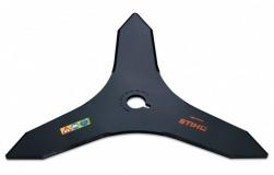 Нож для жесткой поросли Stihl 3Z 300мм - фото
