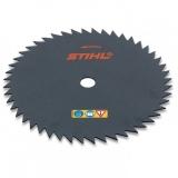 Пильный диск с остроугольными зубьями Stihl , 200 мм для мотокос FS 120/130/250 - фото