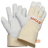 Рабочие перчатки Stihl из свиной кожи и хлопка - фото